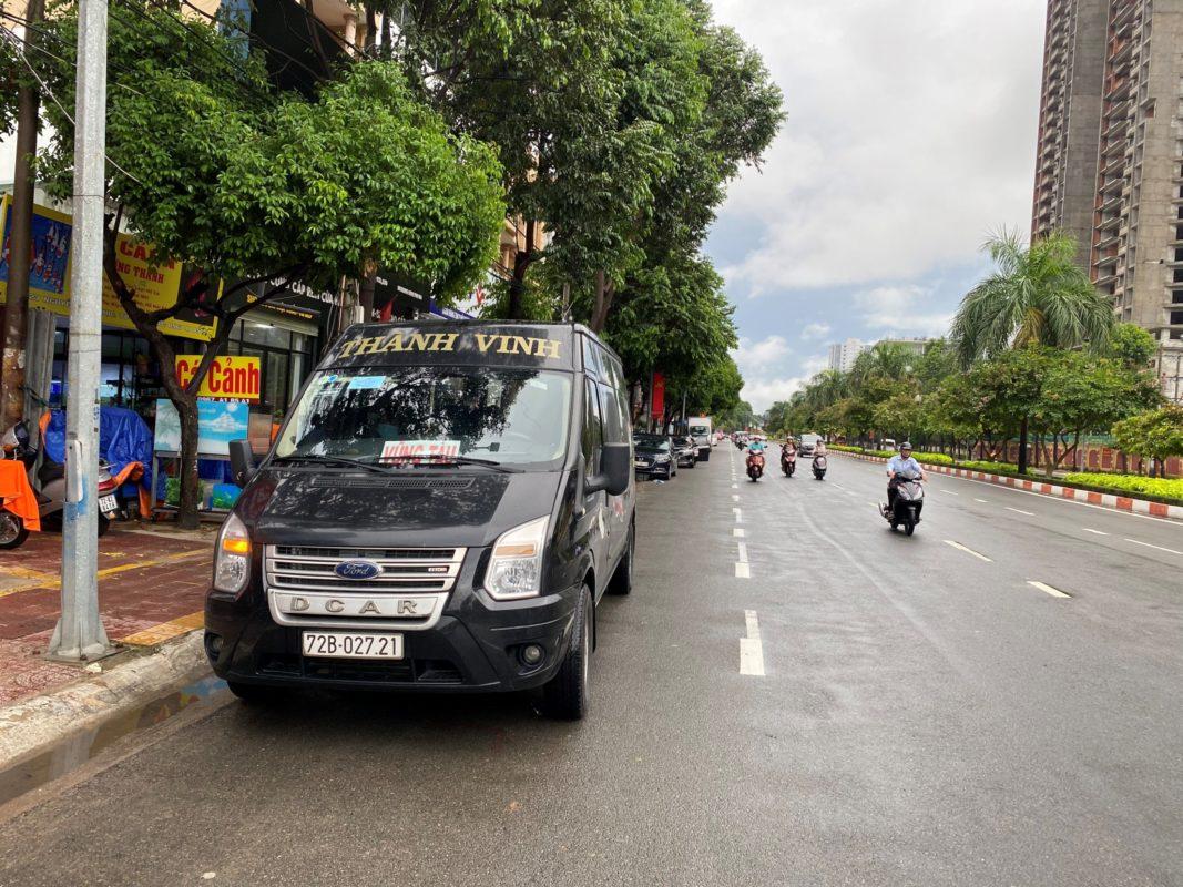 Xe Limousine Thành Vinh Vũng Tàu - Sân bay Tân Sơn Nhất