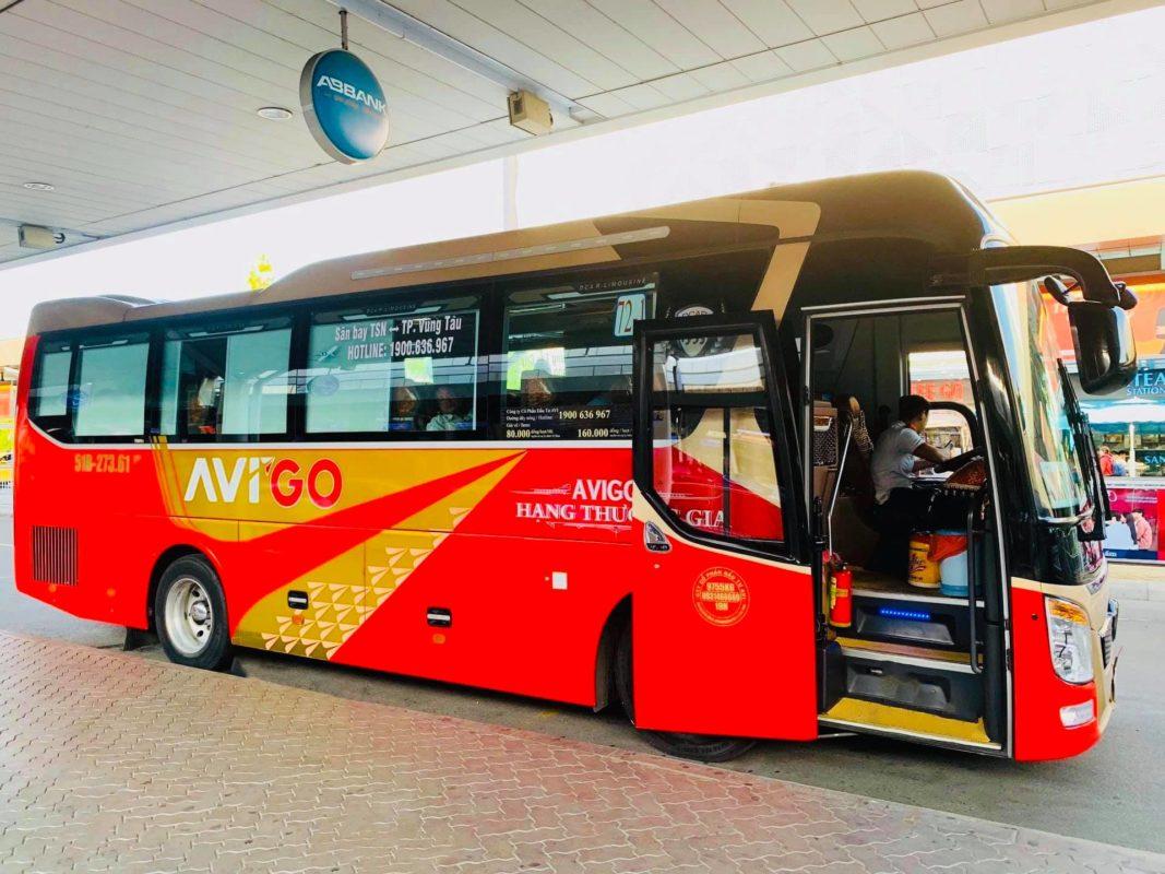 Tuyến xe buýt sân bay Tân Sơn Nhất - Vũng Tàu